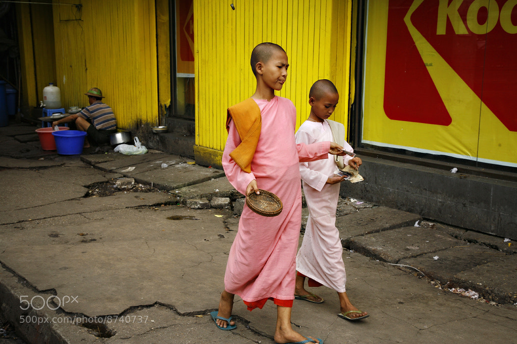 Photograph Yangon, Burma by Gerald Gay on 500px