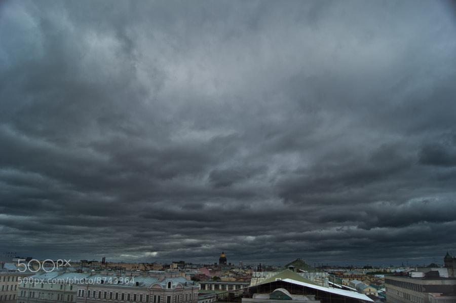 leaden sky by Pavel Nabatov (ra1apo) on 500px.com
