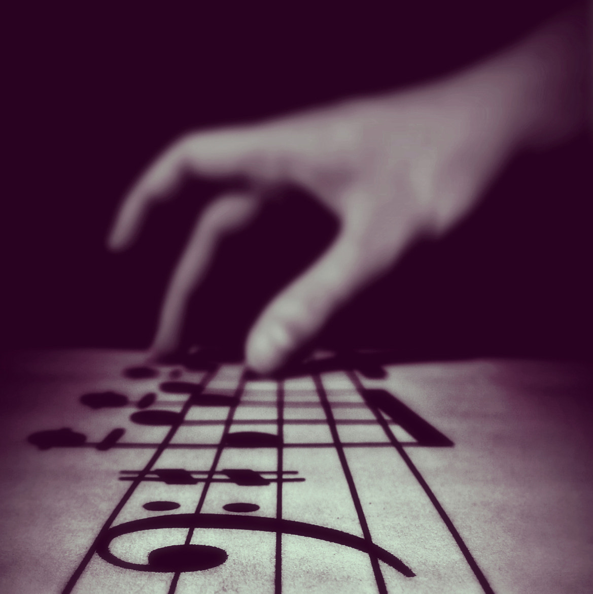Photograph touching music by Katarzyna T. on 500px