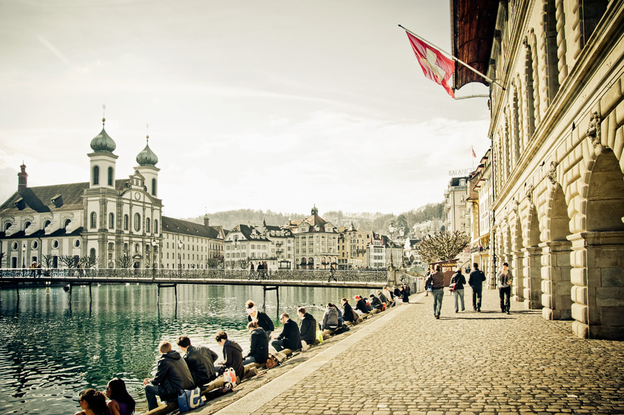 Photograph Luzern Lunch Time by Gabriel Lima on 500px