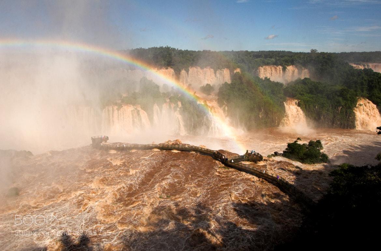 Photograph Iguacu Falls - Brazil side of 'The Devils Throat' by Gideon Jones on 500px