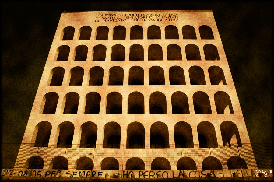 Photograph Square Colosseum-2 by Murat Tosun on 500px
