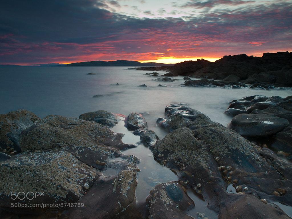 Photograph Skyfire, Portencross by Keith Muir on 500px