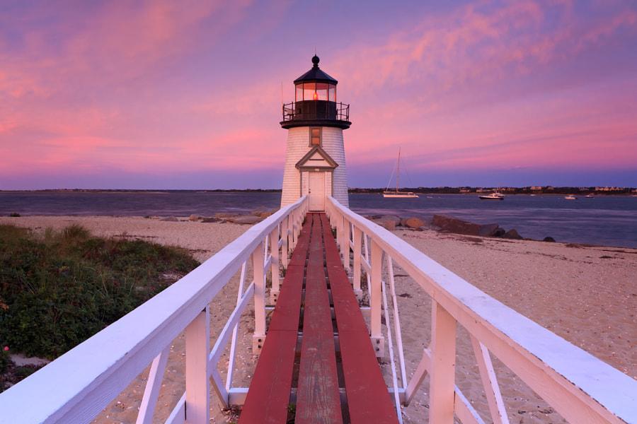 Brant Point Sunset by Katherine Gendreau on 500px.com