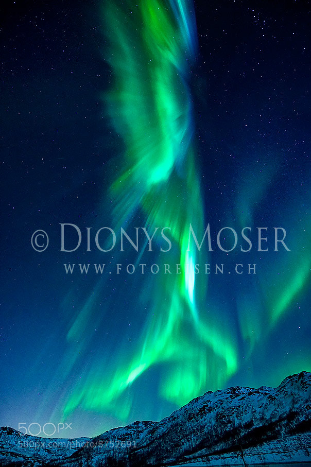 Photograph Corona in the sky - aurora borealis by Dionys Moser on 500px