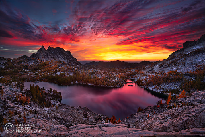 Photograph Enchanted Skyfire (print version) by Zack Schnepf on 500px