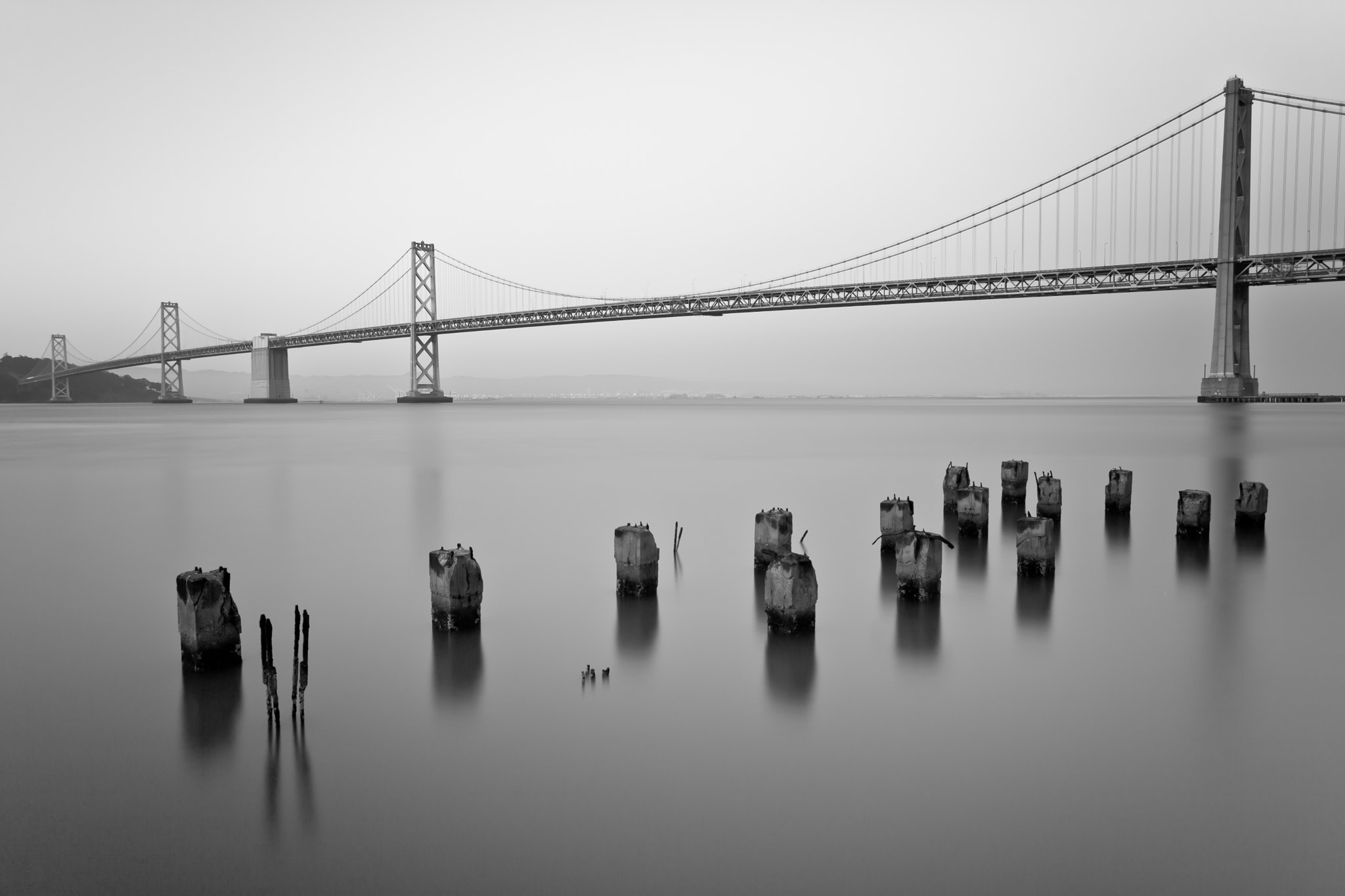 Photograph Bay Bridge by Mikhon on 500px