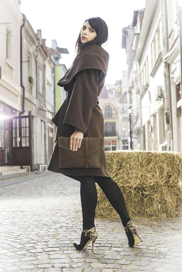 Photograph Girl in brown wool jacket by Deyan Georgiev on 500px