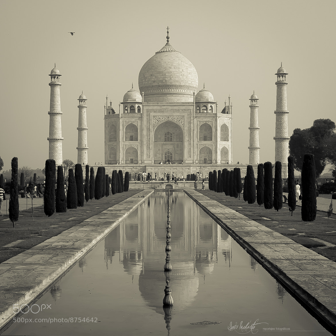 Photograph Taj Mahal by Javi Inchusta on 500px