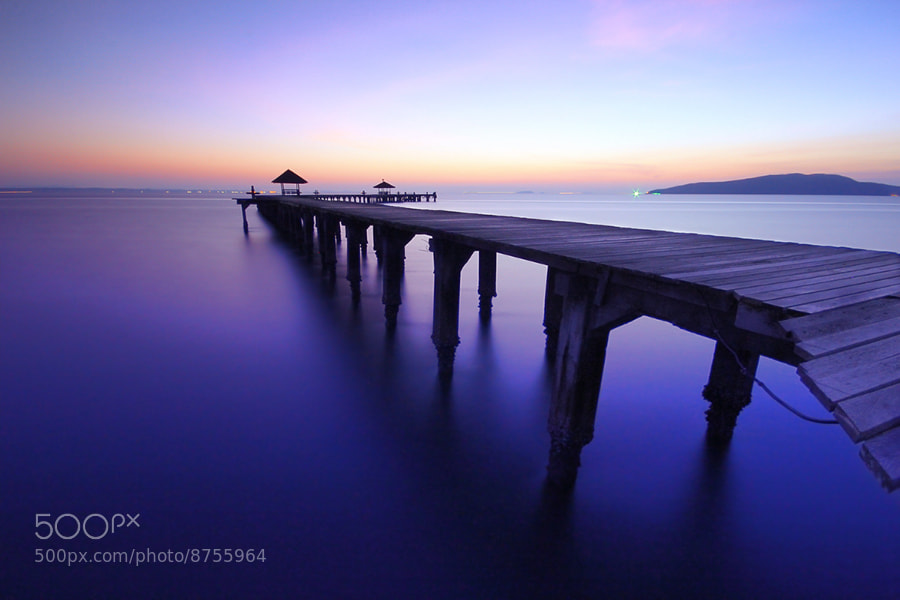 Photograph seascape before sunrise by Prachit Punyapor on 500px