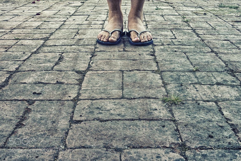 Photograph Stone Feet by Jason B on 500px