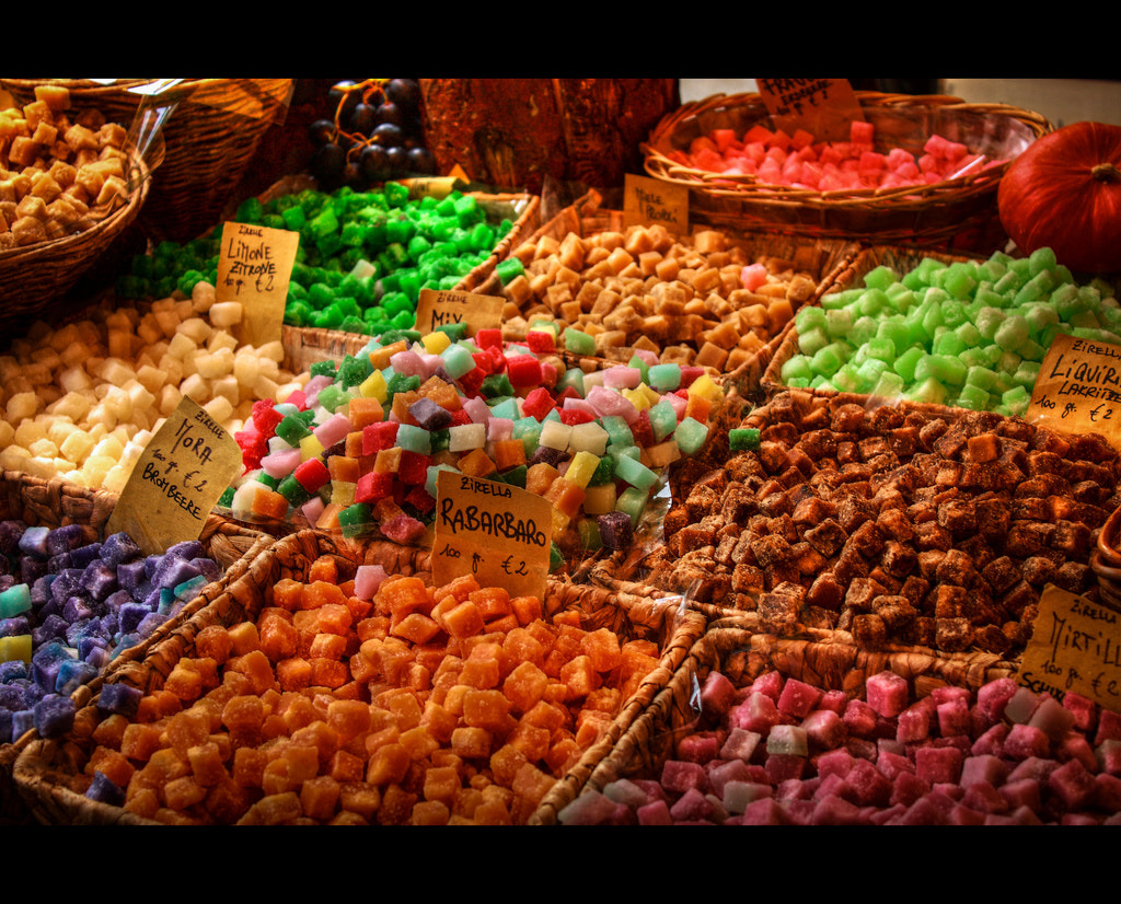 Photograph Colorated Candies by Michele Martellino on 500px