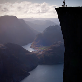 Standing on the edge... by Sam Mannaerts (Sam_Mannaerts)) on 500px.com