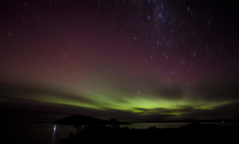 Photograph Aurora Australis by Michael Gay on 500px