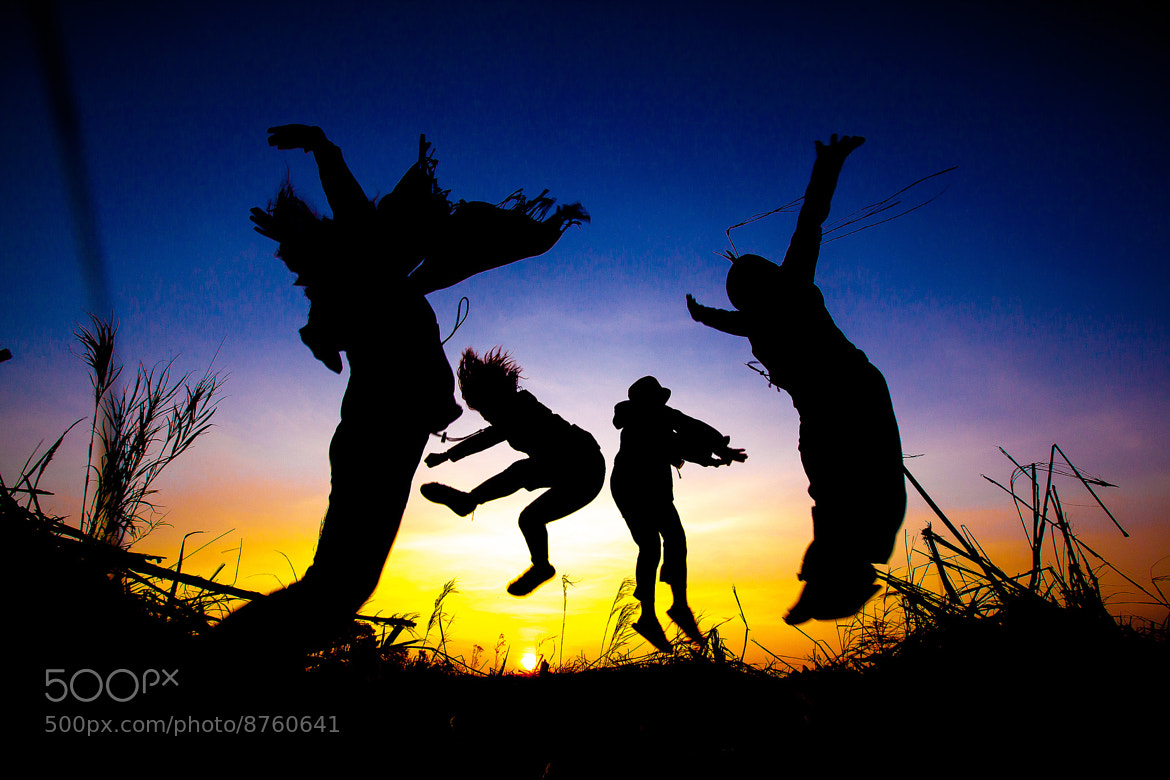 Photograph Jumping In The Morning by Adisak Nakdilok on 500px