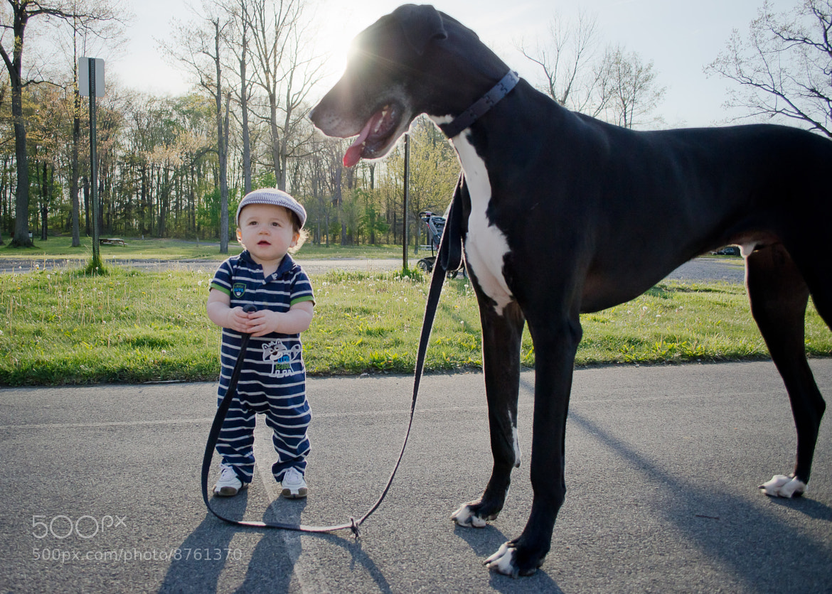 Photograph A Boy and His Dog by Brett Manippo on 500px