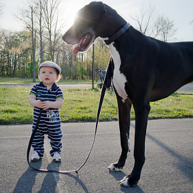 A Boy and His Dog by Brett Manippo (bmanippo)) on 500px.com