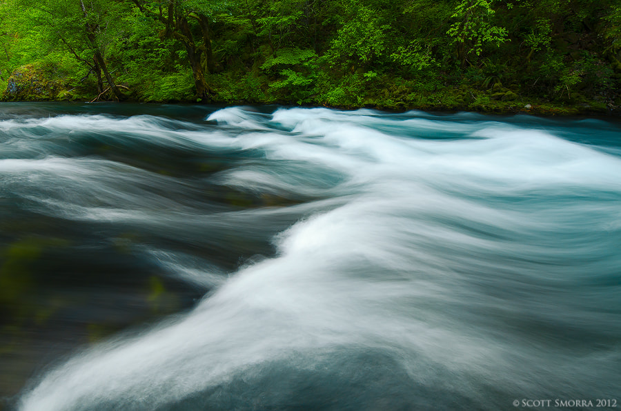 Photograph River Waves by Scott  Smorra on 500px