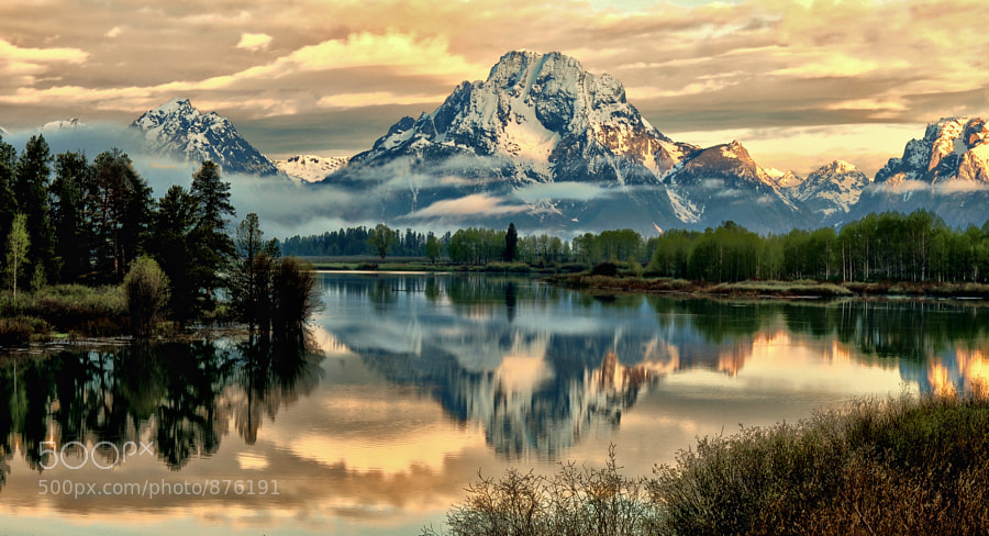 Quiet at the Oxbow by Jeff Clow (jeffclow) on 500px.com