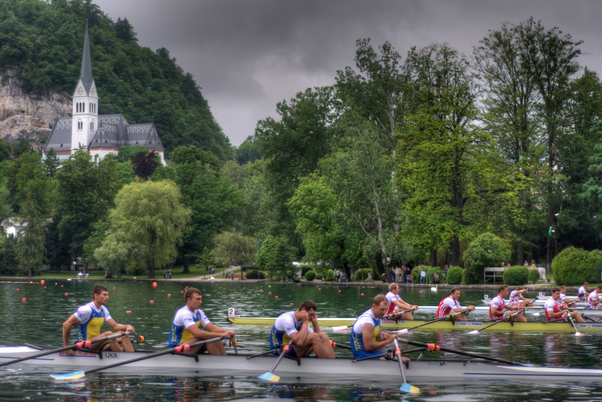 Photograph Rowers preparing to start by Matija Horvat on 500px