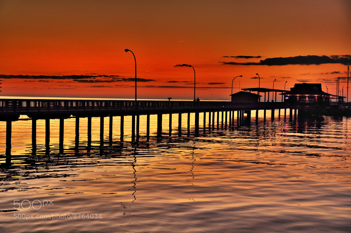 Photograph Sunset at Fairhope Pier by Deadly Dreamer on 500px