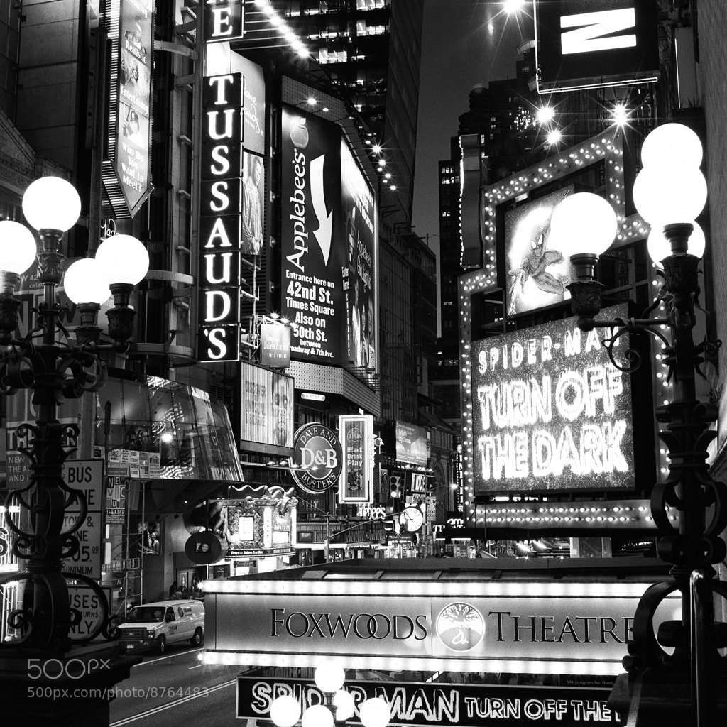 Photograph 42nd Street by Randy Lemoine on 500px