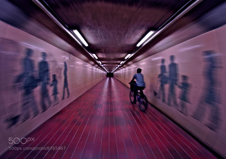 Photograph Tunnel Dash by Sim  Kim Seong on 500px
