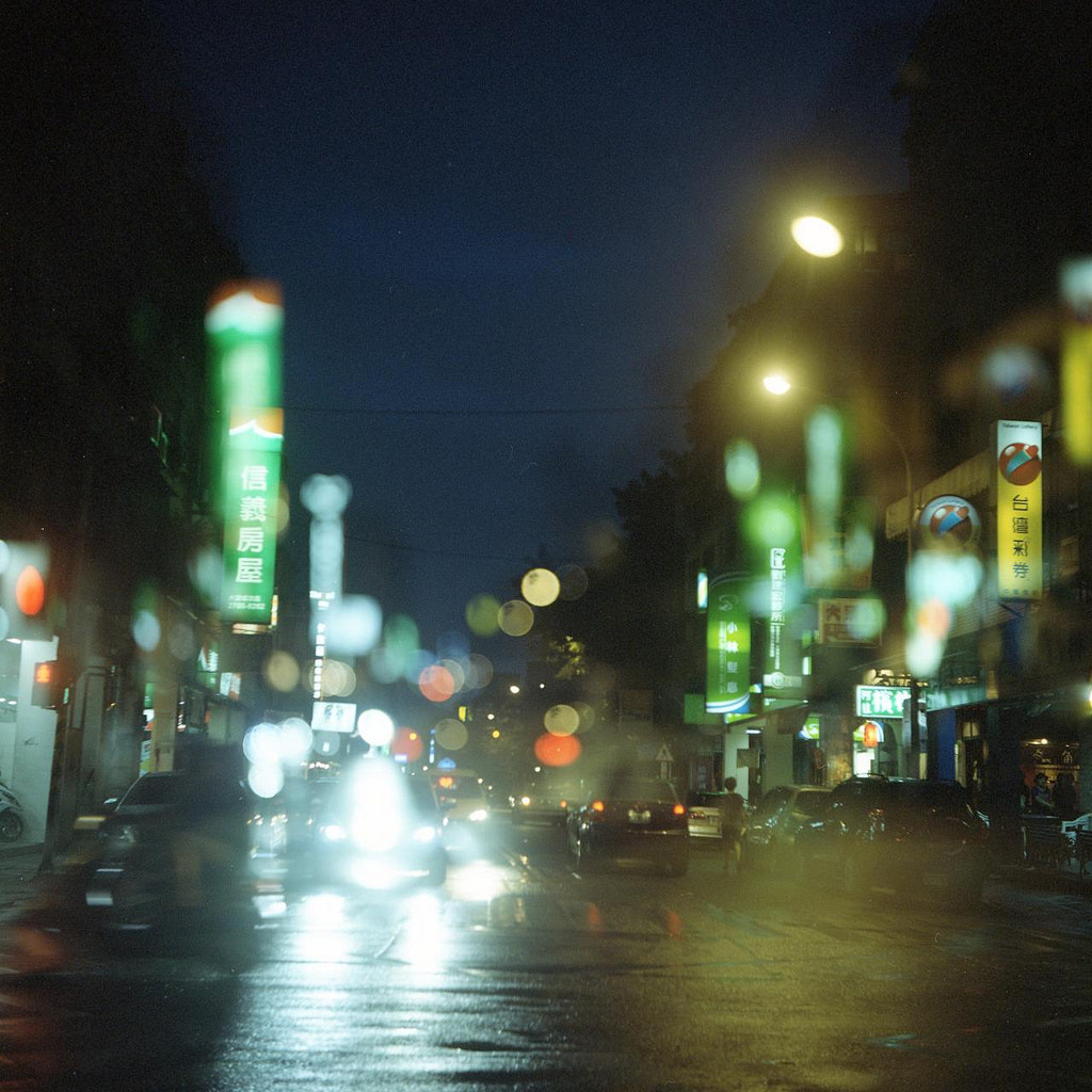 Photograph The bokeh of the night (double exposure) by Colourful  Life on 500px