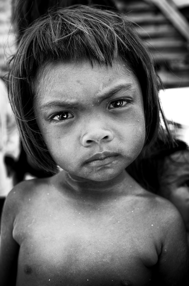 Photograph Portrait of Bajau kid by Syafiq Adnan on 500px