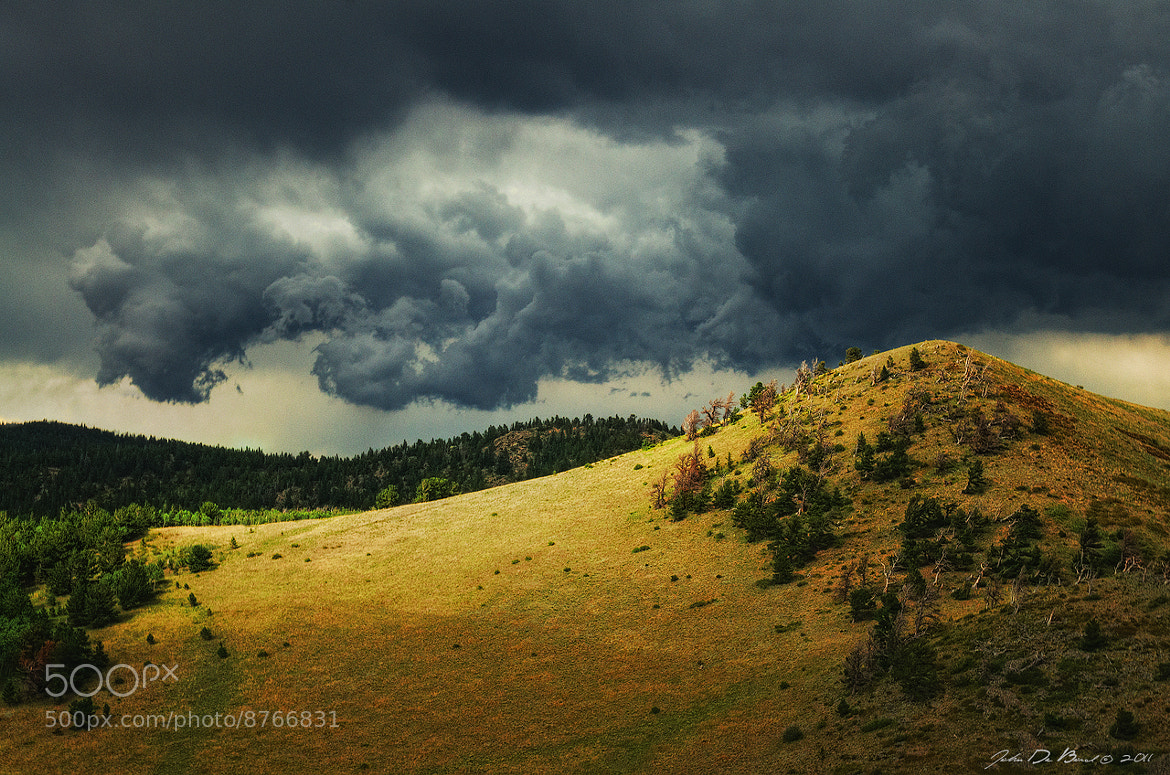 Photograph Thunder Rising by John De Bord Photography on 500px