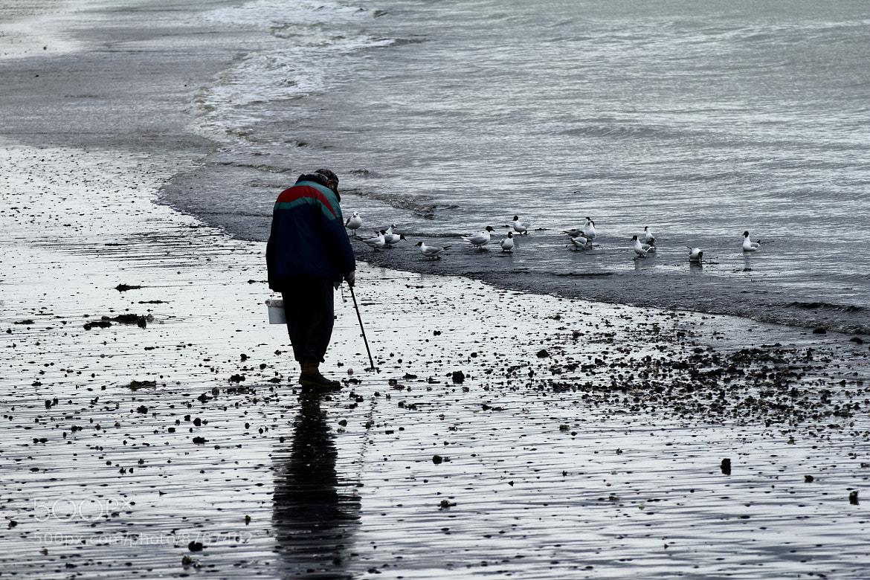 Photograph l'uomo dei gabbiani by Claudia Presti on 500px