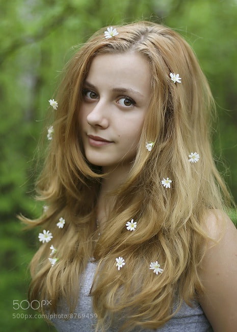 Photograph Girl - summer by Liliya Larkina on 500px