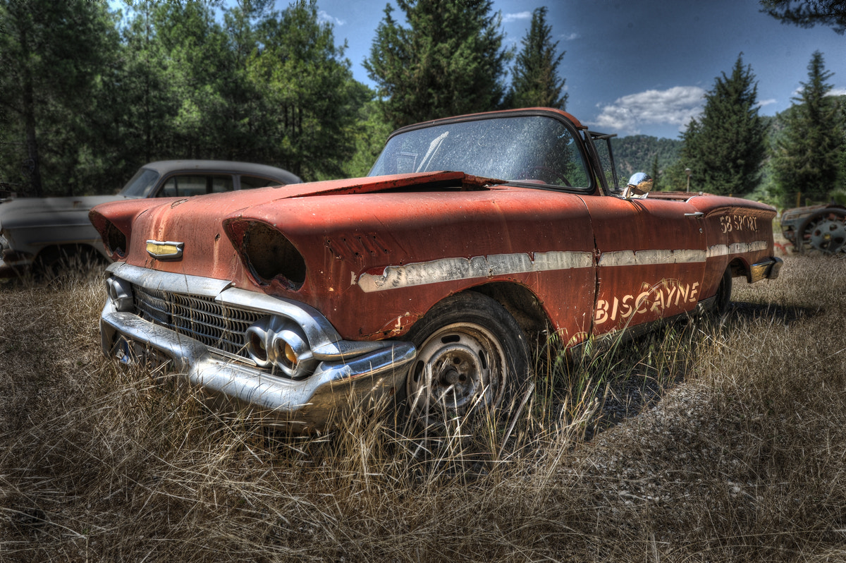 Photograph 1958 Chevrolet Biscayne by Niki Feijen on 500px