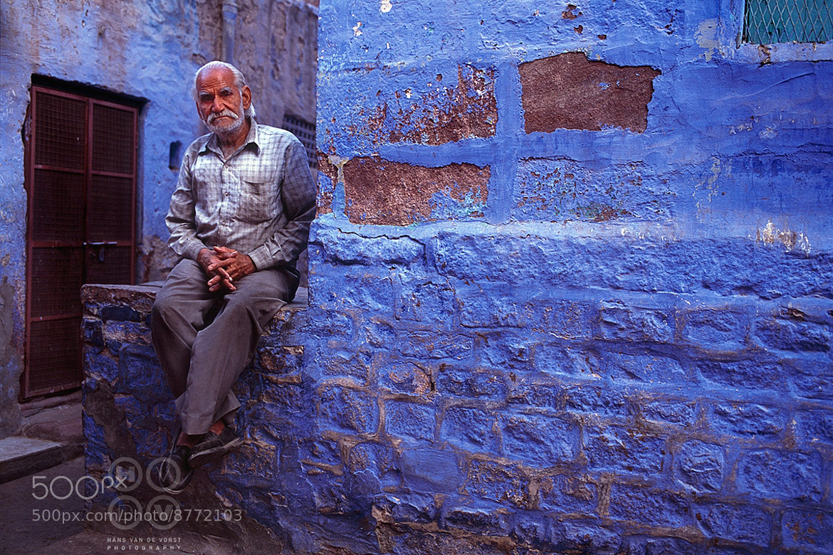 Photograph Blue by Hans van de Vorst on 500px