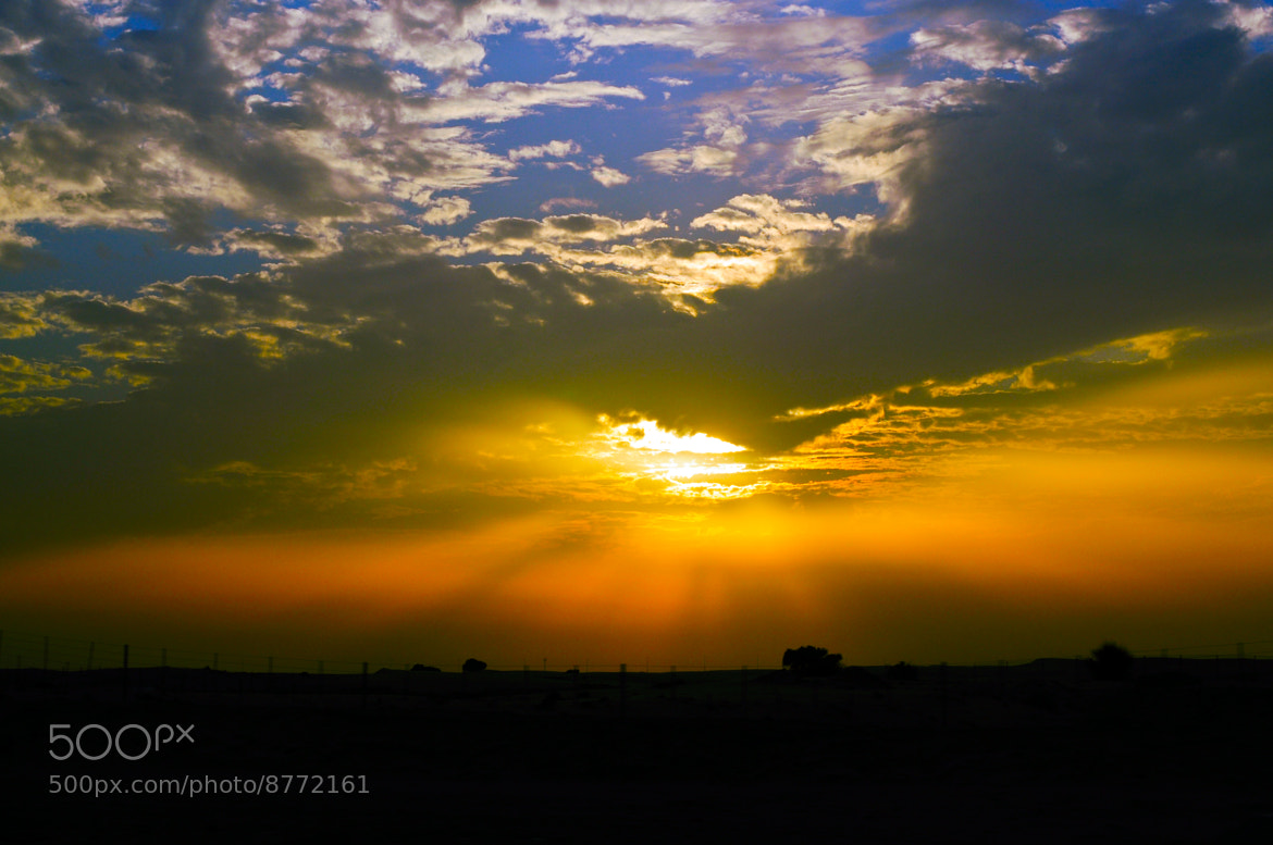 Photograph sunset by Cesar Samiano on 500px