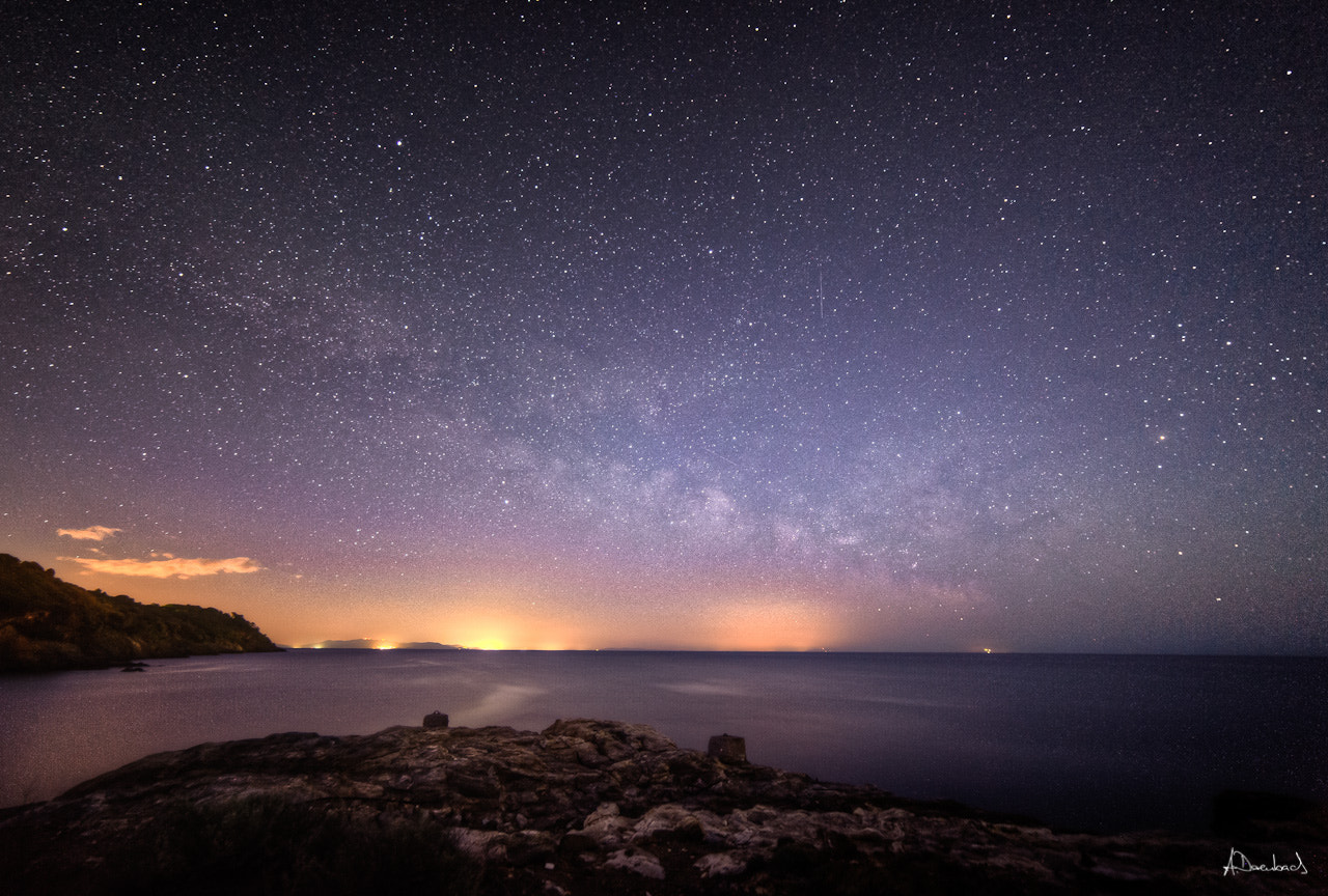 Photograph Milkyway Isola di Elba by Alexander Derenbach on 500px