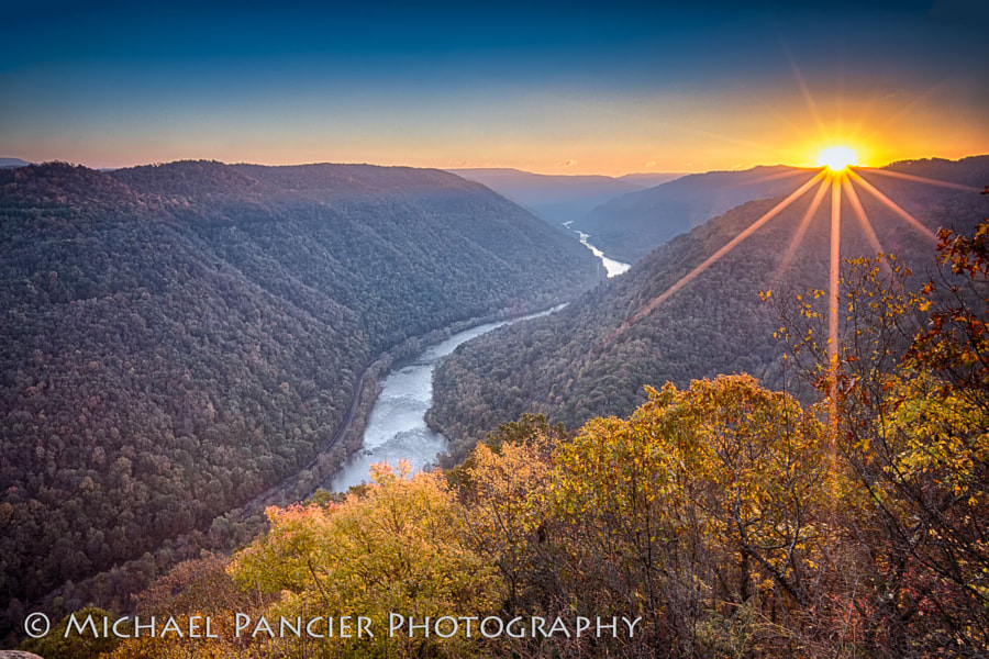 New River Gorge National River, West Virginia,