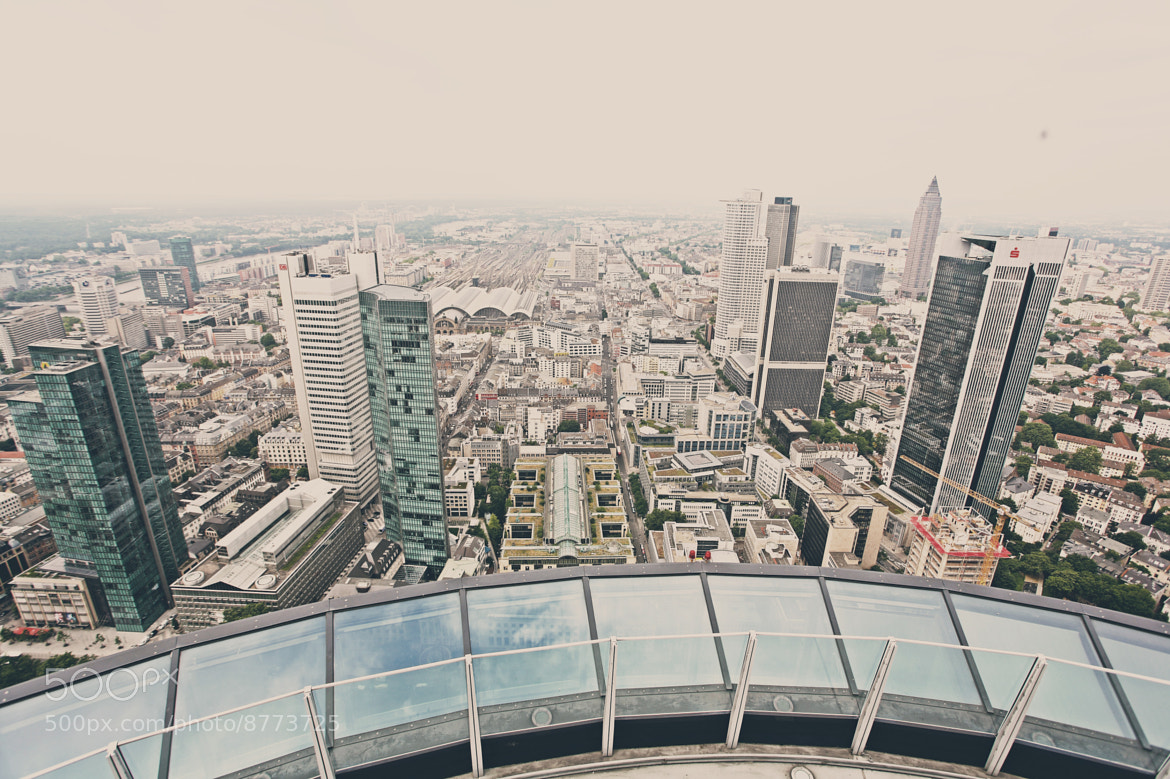 Photograph Frankfurt Viewpoint by Daniel Strauch on 500px
