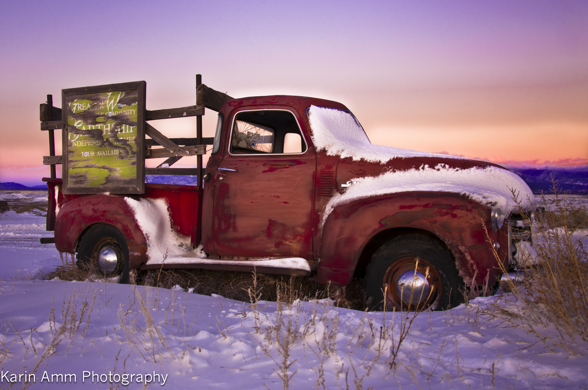 Photograph Snow Truck by karin Amm on 500px
