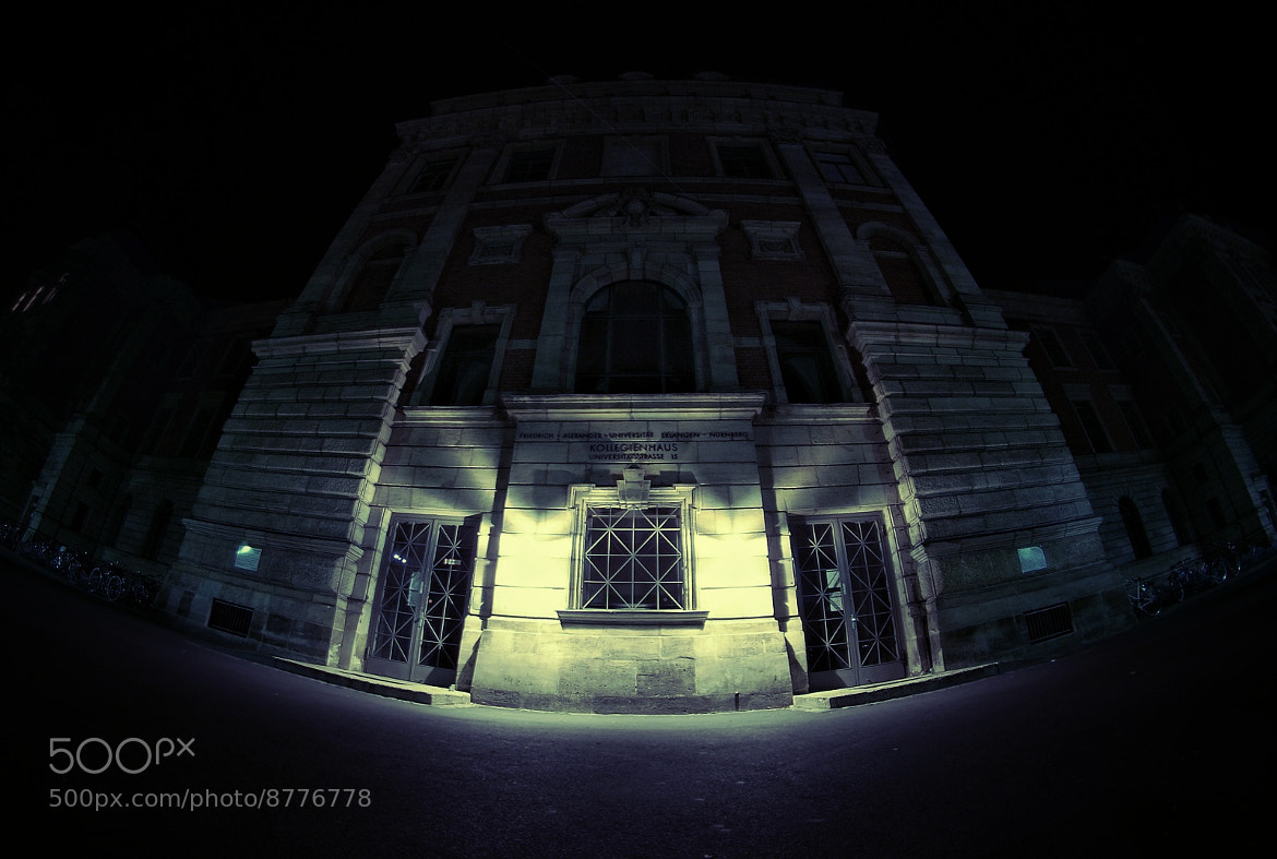 Photograph haunted college by Matthias Koebrich on 500px