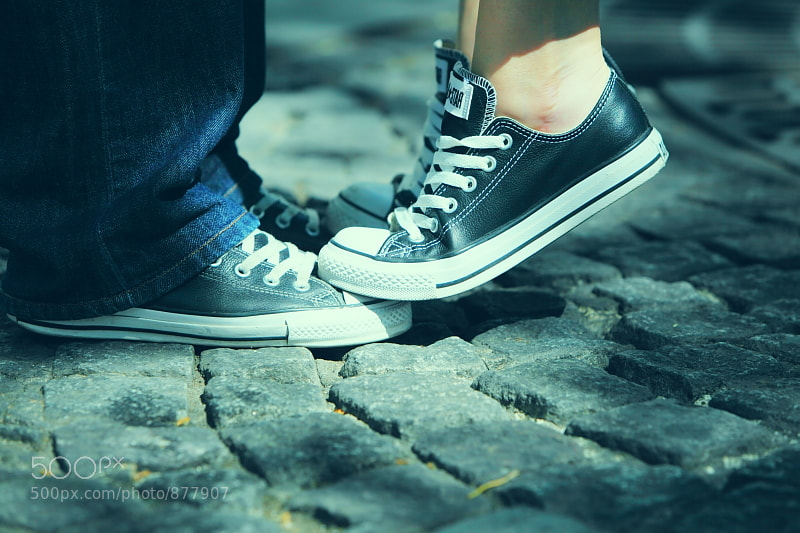 Photograph converse lovers by FRANT FIFA on 500px