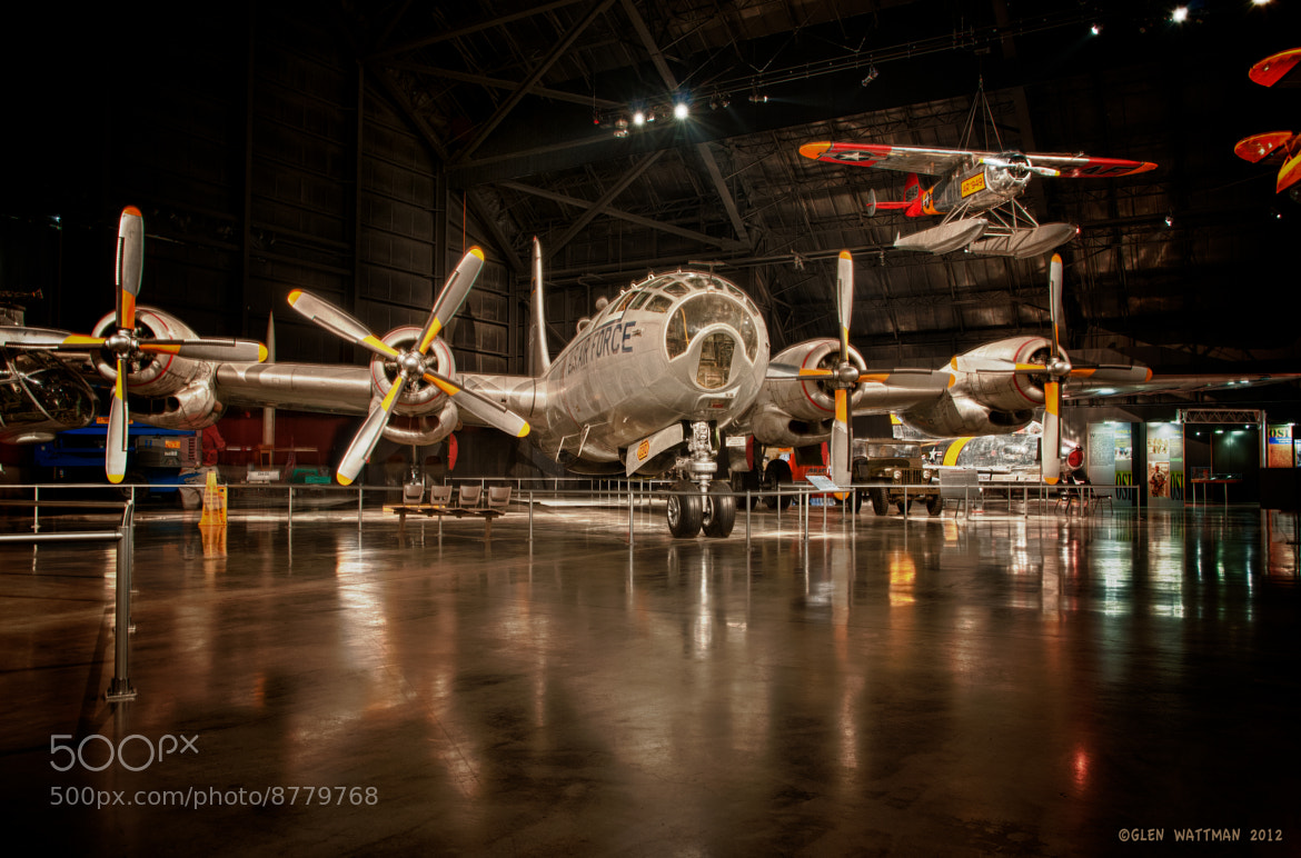 Photograph B-29 WWII Bomber by Glen Wattman on 500px