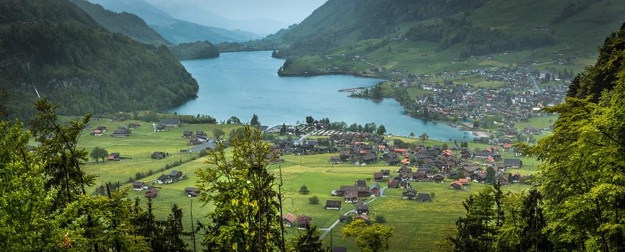 Swiss Views XII, a panorama