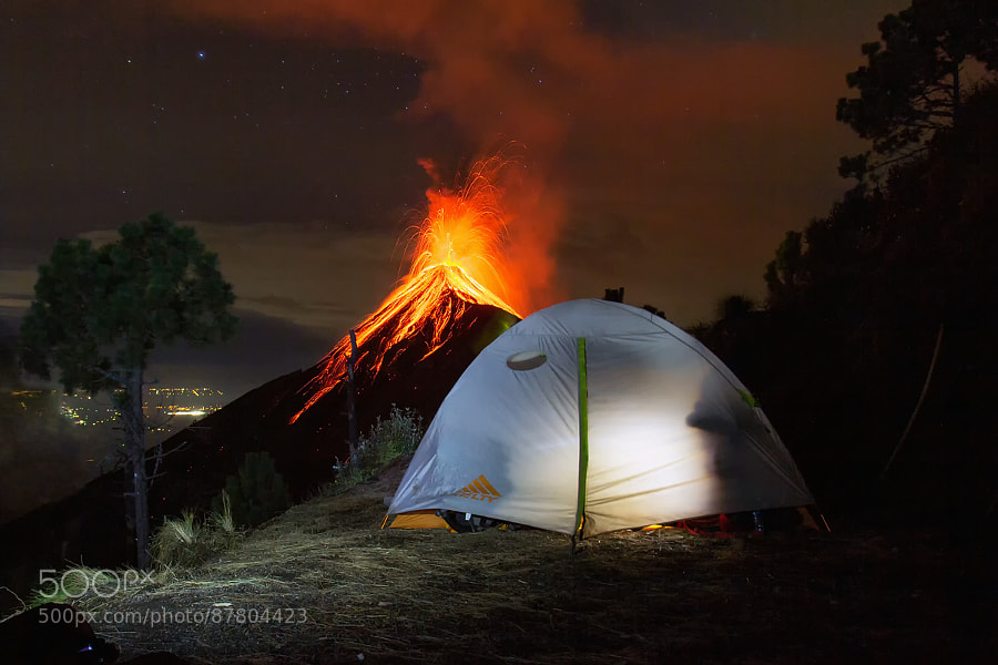 Photograph Vulcano Fuego | Antigua, Guatemala by Matthias Huber on 500px
