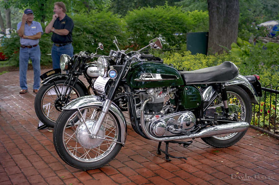 1968 Norton Atlas at 2014 Brits In The Park