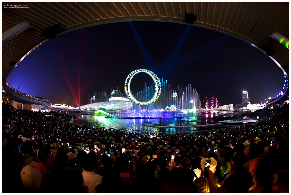 Photograph EXPO 2012 YEOSU KOREA  BIG-O SHOW by cho dongseok on 500px