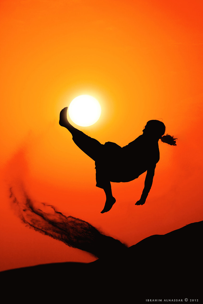 Photograph Playing with the sun ! by Ibrahim  Alnassar on 500px
