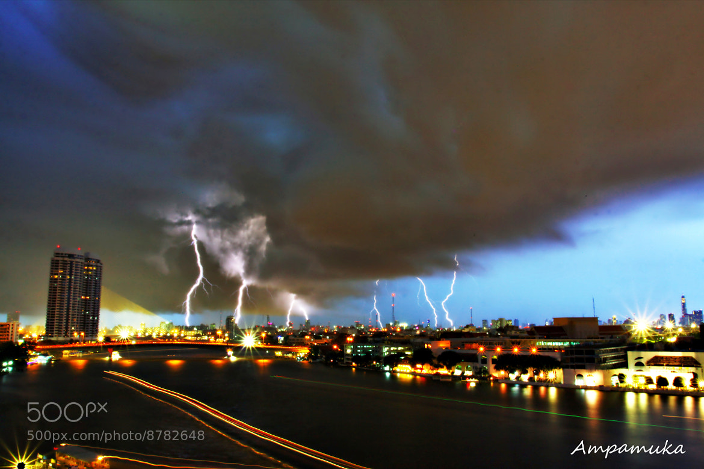 Photograph Angry Sky Bangkok by Suradej Chuephanich on 500px