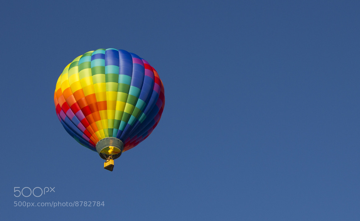 Photograph Hot Air Balloon Wide by Anthony Roderman on 500px