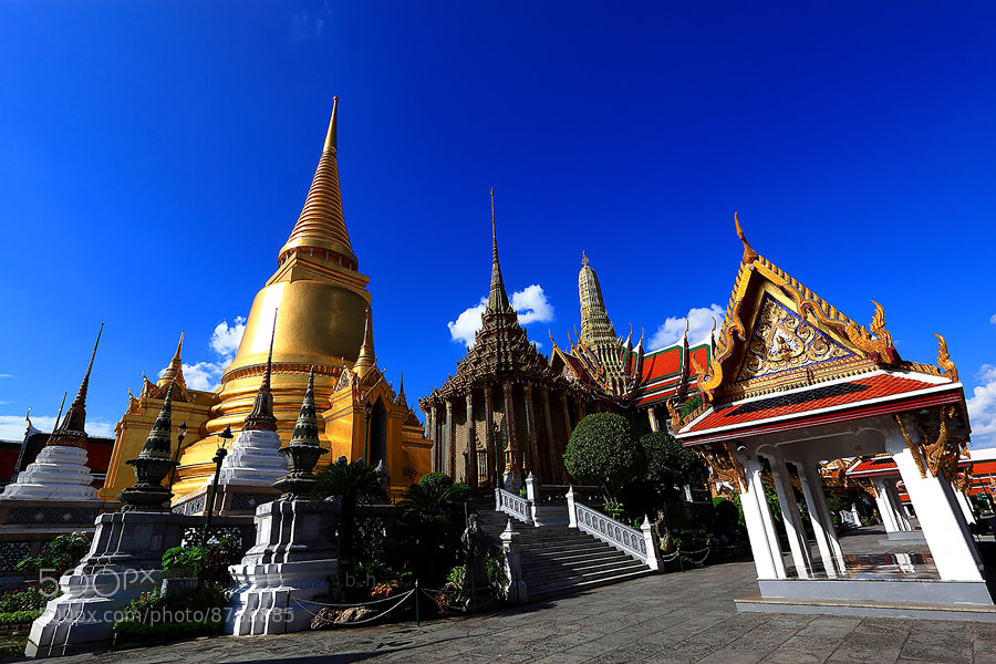 Photograph WAT  PHRA  KAEW by viewfinder7 on 500px